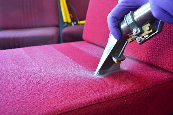 Commercial staff room upholstery cleaning in Sedgefield